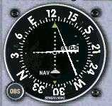VOR indicating: VOR indicating: On the Glideslope, Left of the Localizer