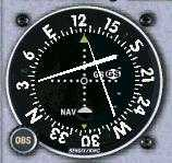 VOR indicating: Below the Glideslope, Left of the Localizer