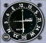 VOR indicating: On the Glideslope, On the Localizer