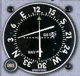 VOR indicating: Below the Glideslope, On the Localizer