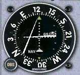 VOR indicating: On the Glideslope, Right of the Localizer